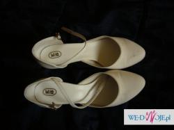 sprzedam welon( 55/70 cm ) i buty ślubne ( rozm 40)