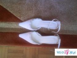 Sprzedam Włoskie białe buciki ślubne Carlo Ferrucci