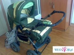 """Sprzedam Wózek model""""LEON"""" W BARDZO DOBRYM STANIE UżYWANY 7 MIESIęCY TANIO!!!"""