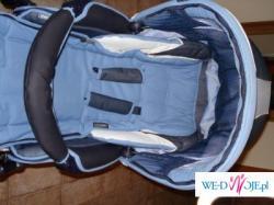 sprzedam wózek trzyfunkcyjny Bebecar Style AT- gondola, spacerówka, fotelik
