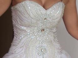 Sprzedam wyjątkową białą suknię ślubną w rozmiarze 36/38