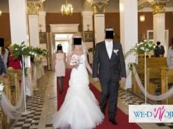 Sprzedam wyjątkową suknię  ślubną Agora 11-11 (rozm. 36)