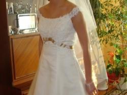 Sprzedam wyjątkową suknie ślubną Herm's Delori