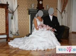 sprzedam wyjątkowo śliczną suknię ślubną