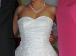 Sprzedam zachwycającą suknię ślubną 2013