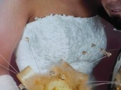 Sprzedam zdobną suknię ślubną 36-38