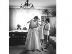 Sprzedam zjawiskową suknię ślubną Arie Barcelona Arcilla rozmiar 36