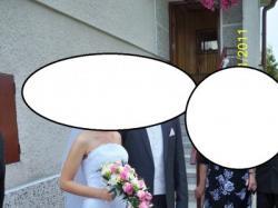 Sprzedam zjawiskową suknię ślubną szytą we Francji