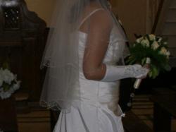 Sprzedaż suknie ślubną SWAROVSKI kryształki + gratisy