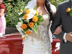 sprzxedam suknię ślubną