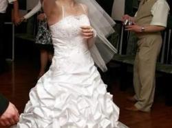 Sprzzedam tanio śliczną suknię slubną