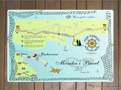 Star-Graf: Oryginalne zaproszenia oraz mapy ślubne™