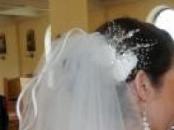 stroik, welon ślubny