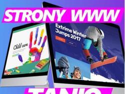 Strony Internetowe Projektowanie Tworzenie Stron WWW Cennik TANIE