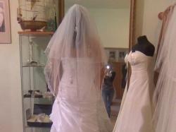 Stylowa suknia ślubna !!!