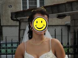 Stylowa włoska suknia ślubna