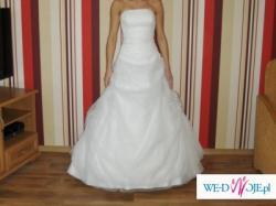 Subtelna delikatna suknia ślubna Agnes z kolekcji 2009. Gorąco polecam :)