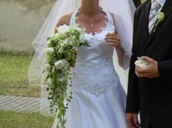 Subtelna suknia ślubna