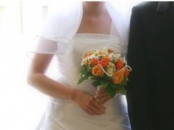 Subtelna suknia ślubna Agnes roz. 38 !!
