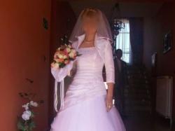 Subtelna suknia ślubna rozmia 34 na wzrost 156