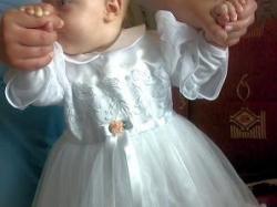 Sukieneczka do chrztu r.74