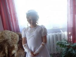 sukieneczka komunijna