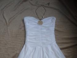 Sukienka Bogini    biała  Studniówka/Imprezy