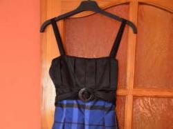 Sukienka czarno granatowa