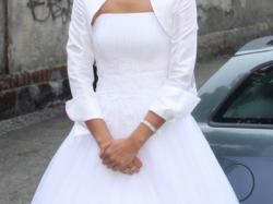 sukienka dla wysokiej i szczupłej panny młodej