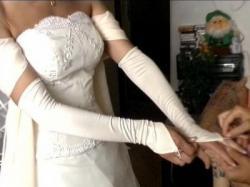 sukienka ecrue