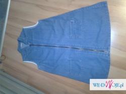 sukienka jeansowa ciążowa