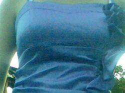 Sukienka niebieska (blękit)