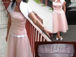 Sukienka różowa tiulowa,wesele,przyjęcie
