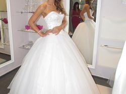 Sukienka Sincerity 3656 Księżniczka 36-38