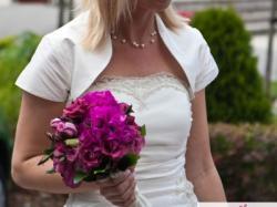 Sukienka slubna BOLOGNA; klasyczna elegancja