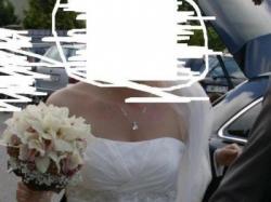sukienka ślubna ecru