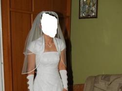 Sukienka Ślubna-elegancka-okazja