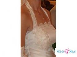 sukienka ślubna jasne ecru - SPRAWDŹ!