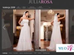 Sukienka ślubna Julia Rosa