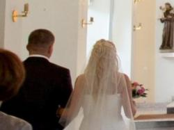 Sukienka ślubna piekna, jak nowa 2011/2012