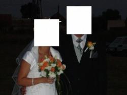 sukienka ślubna roz 38