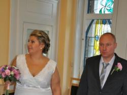 Sukienka ślubna rozm. 48