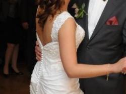 Sukienka ślubna Sweetheart 5897- rozmiar 38