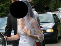 Sukienka Ślubna z trenem