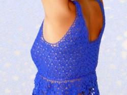 sukienka z koronki Koniakowskiej