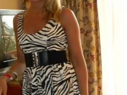Sukienka ZEBRA!!!!
