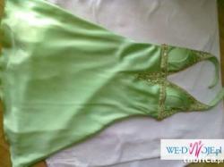 Sukienka zielona  rozmiar 38