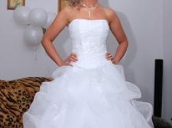 Suknai ślubna biała rozmiar 36