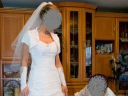 Sukni ślubna 36-38