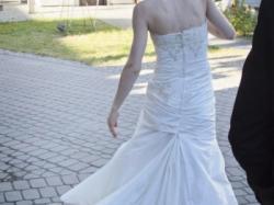 suknia 34-36 śmietankowa